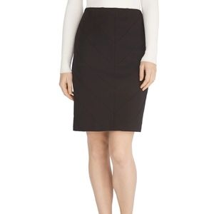 WHBM Instantly Slimming Black Pencil Skirt- Size 6
